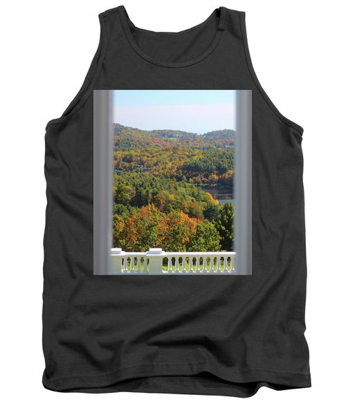 View From Moses Cone 2014b Tank Top