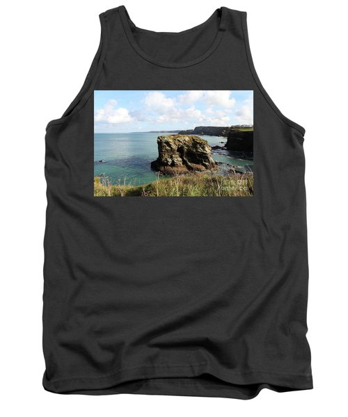 Tank Top featuring the photograph View From Porth Peninsula by Nicholas Burningham