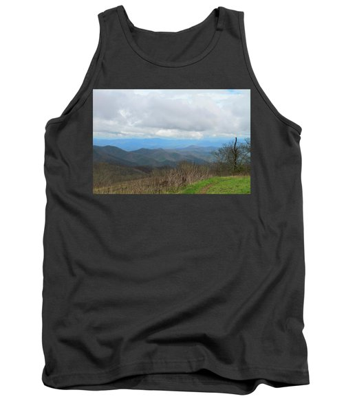View From Silers Bald 2015d Tank Top