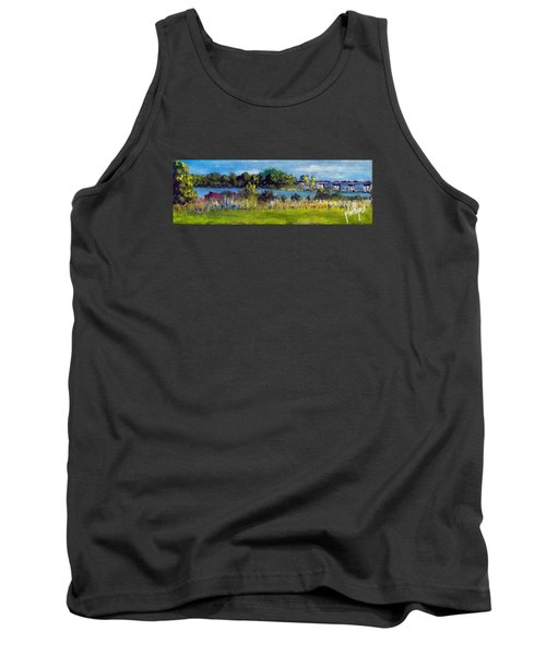 View From Sturgeon City Park Tank Top
