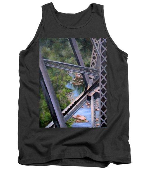 View From The Bridge--sedona, Az Tank Top by Mary McCullah