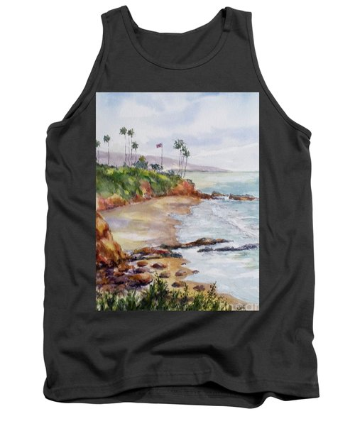 View From The Cliff Tank Top by William Reed