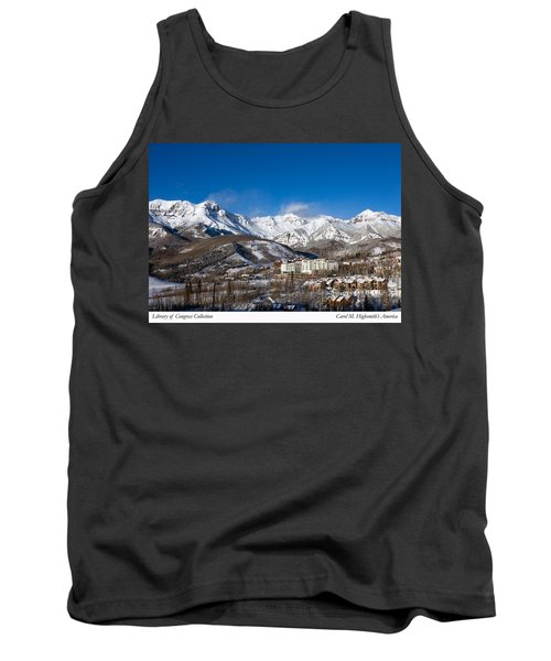 View From The Mountain Above Telluride Tank Top