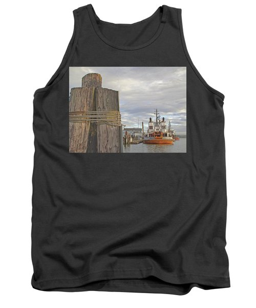 View From The Pilings Tank Top by Suzy Piatt