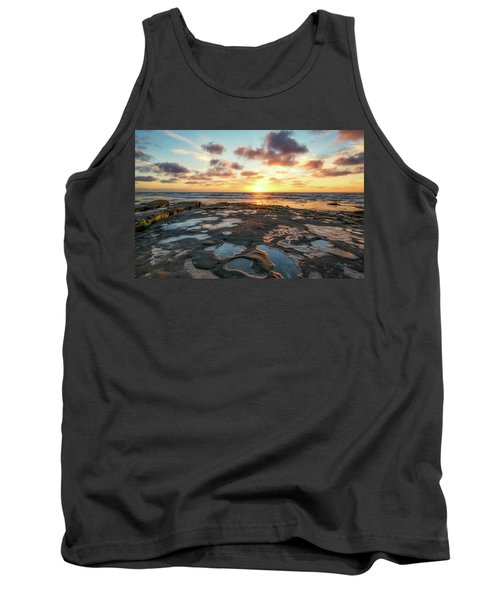View From The Reef Tank Top by Joseph S Giacalone