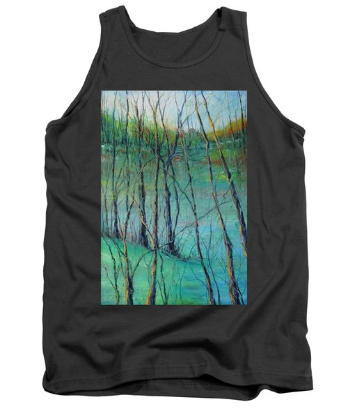 View Of Nature's Canvas Tank Top by Robin Miller-Bookhout