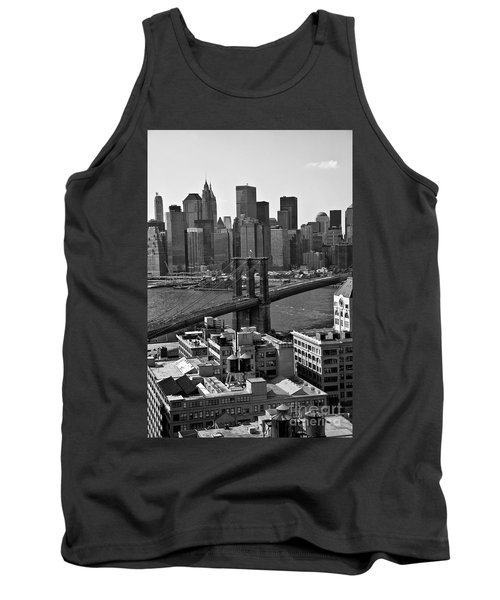 View Of The Brooklyn Bridge Tank Top by Madeline Ellis