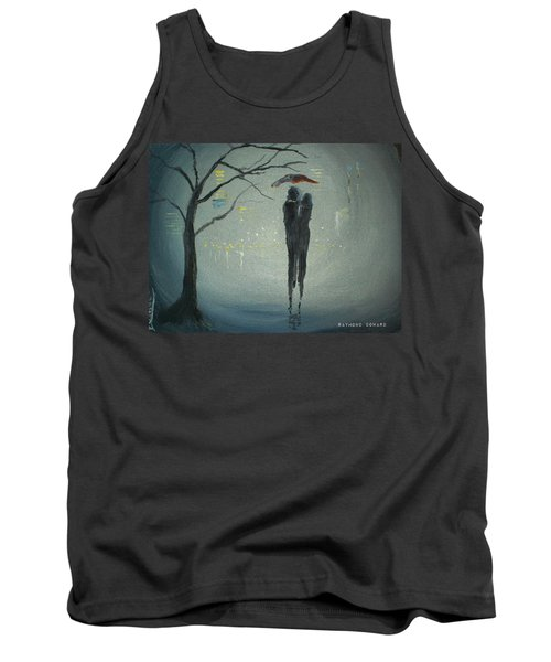 View Of The City Tank Top by Raymond Doward