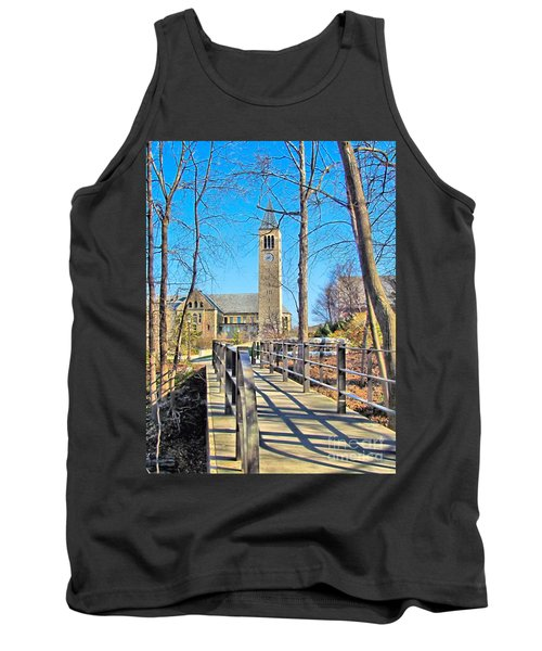 View To Mcgraw Tower Tank Top