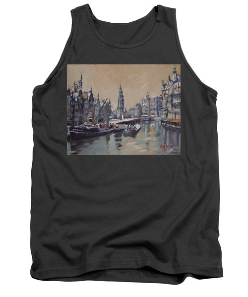 View To The Mint Tower Amsterdam Tank Top by Nop Briex