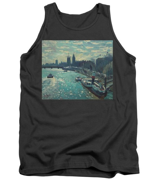 View To Westminster London Tank Top