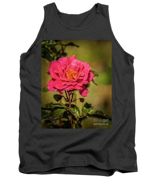 Tank Top featuring the photograph Vignetted  Rose by Robert Bales