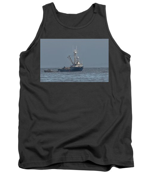 Viking Fisher 1 Tank Top by Randy Hall