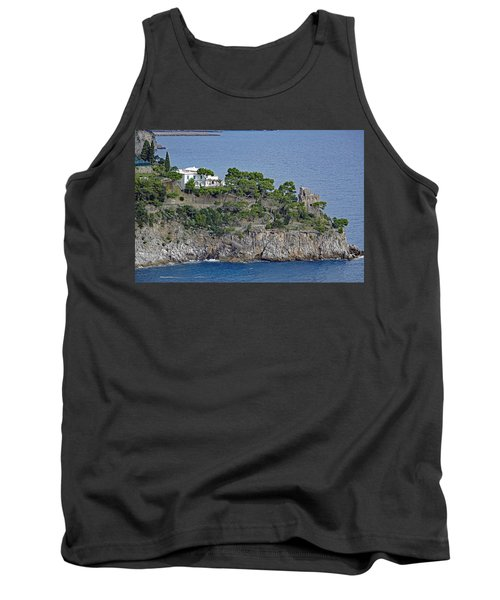 Villa Owned By Sophia Loren On The Amalfi Coast In Italy Tank Top