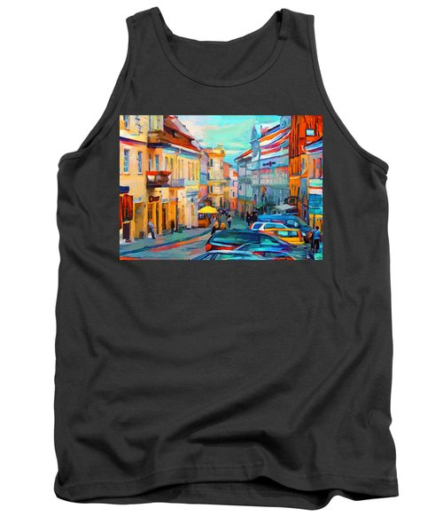 Vilnius At Paint Tank Top