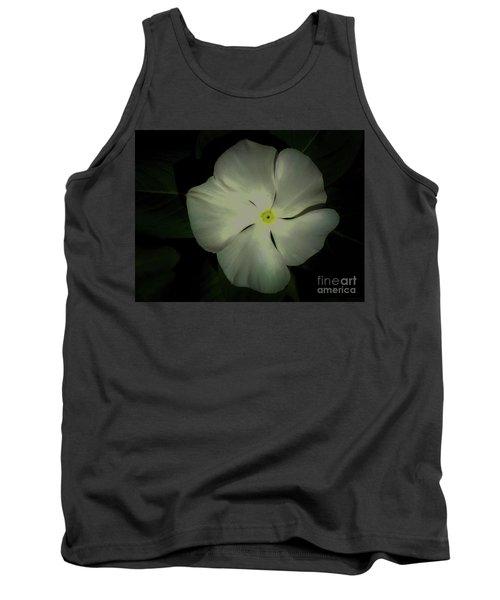 Vinca Bloom Night Glow Tank Top