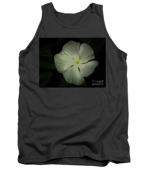 Vinca Bloom Night Glow Tank Top