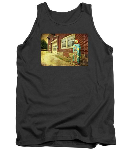 Tank Top featuring the photograph Vincent Van Gas by Trina Ansel