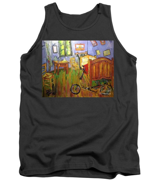 Vincent Van Go's Bedroom Tank Top