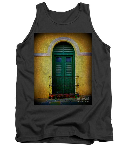 Vintage Arched Door Tank Top by Perry Webster