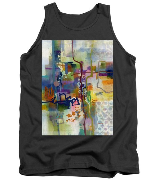 Tank Top featuring the painting Vintage Atelier 2 by Hailey E Herrera