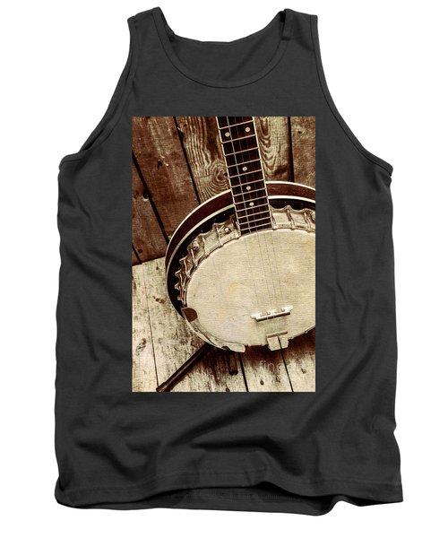 Vintage Banjo Barn Dance Tank Top