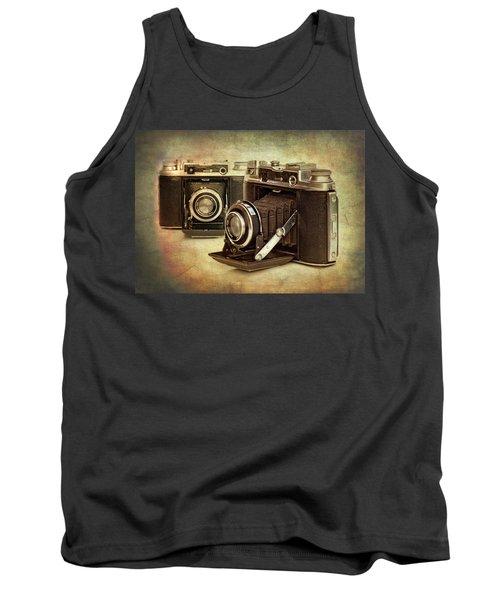 Vintage Cameras Tank Top
