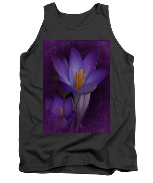 Tank Top featuring the photograph Vintage Crocus 2017 by Richard Cummings