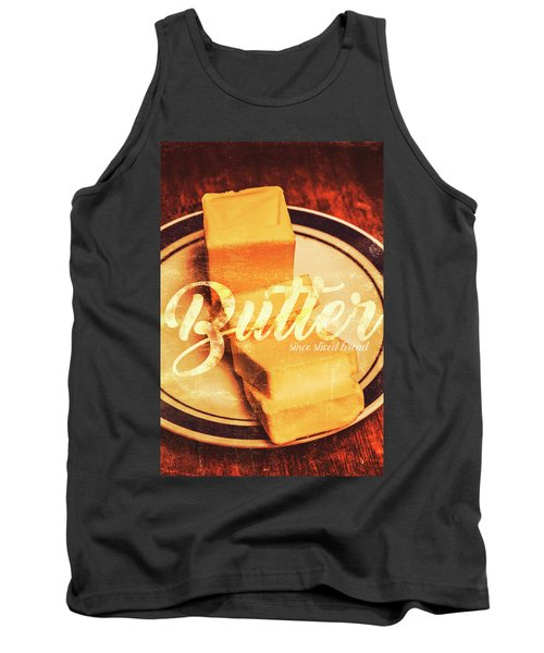 Vintage Dairy Product Advertisement Tank Top
