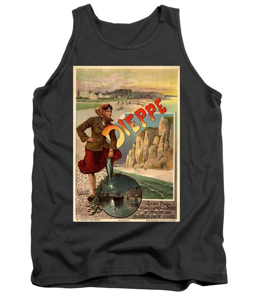 Vintage Dieppe Advertisement Tank Top by Andrew Fare