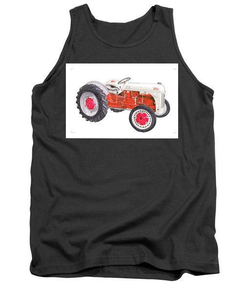 Vintage Ford Tractor 1941 Tank Top by Jack Pumphrey