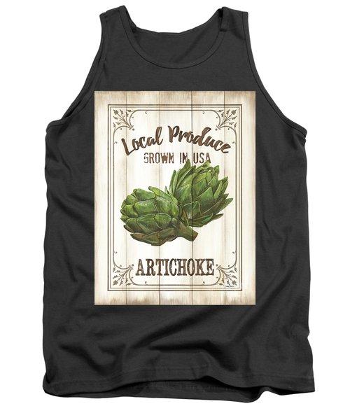 Vintage Fresh Vegetables 2 Tank Top by Debbie DeWitt