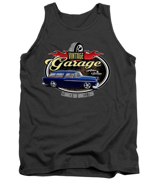 Vintage Garage With Nomad Tank Top