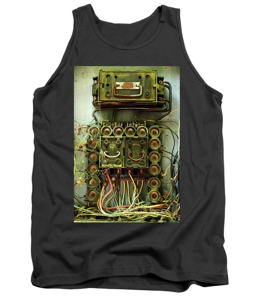Vintage Household Fuse Box Tank Top