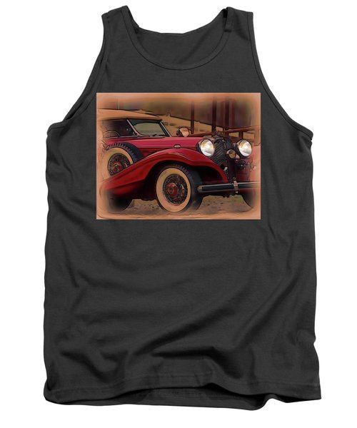 Vintage Mercedes Tank Top