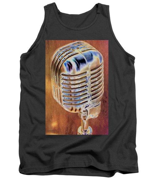 Vintage Microphone Tank Top