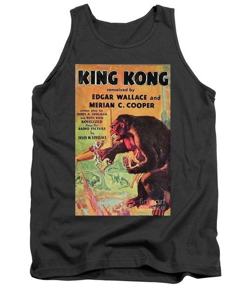Vintage Movie Posters, King Kong Tank Top