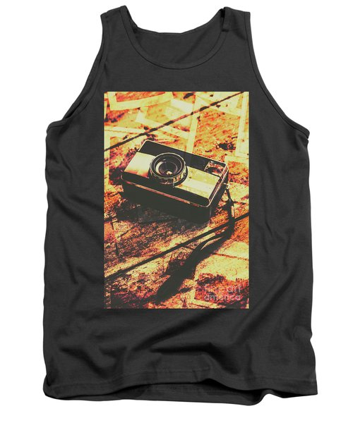 Vintage Old-fashioned Film Camera Tank Top