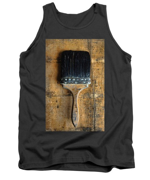 Vintage Paint Brush Tank Top