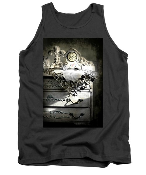 Tank Top featuring the photograph Vintage Time by Diana Angstadt