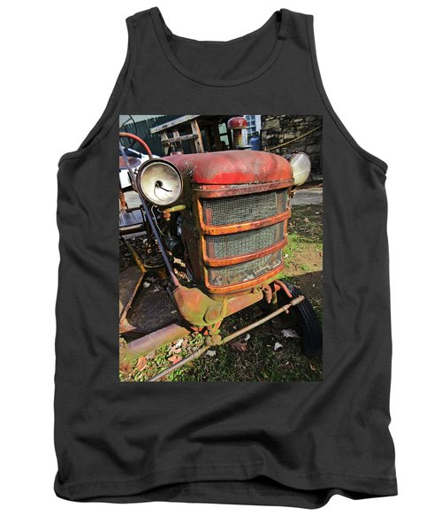 Vintage Tractor Mower Tank Top