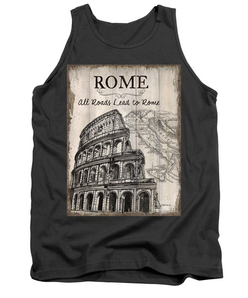 Vintage Travel Poster Tank Top