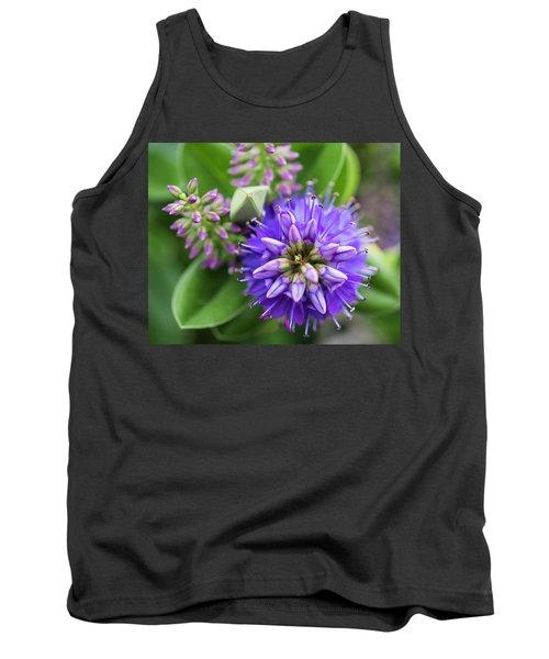 Violet Burst Tank Top