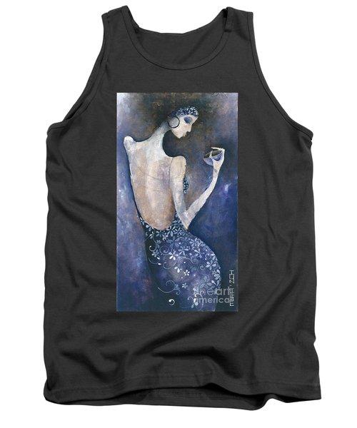 Violet Inspiration Tank Top by Maya Manolova