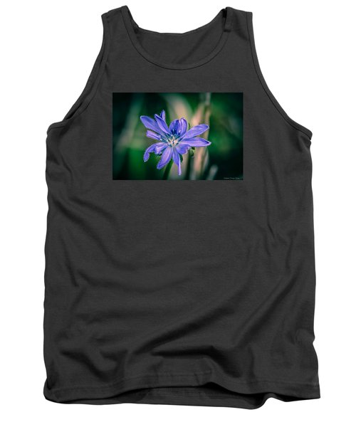 Tank Top featuring the photograph Violet by Michaela Preston