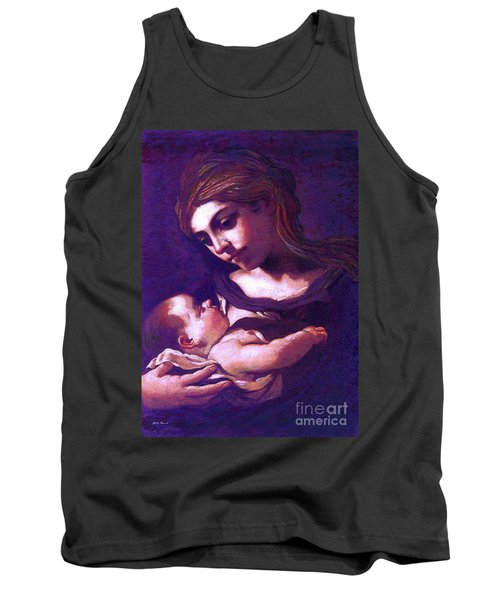 Virgin Mary And Baby Jesus, The Greatest Gift Tank Top