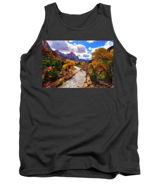 Virgin River Autumn Tank Top
