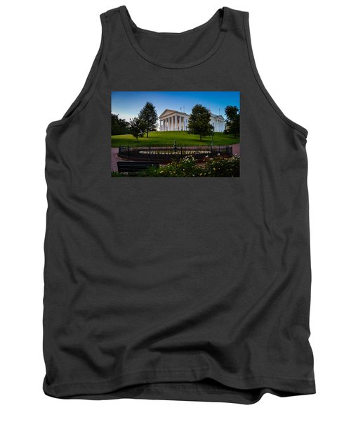 Virginia Capitol Building Tank Top
