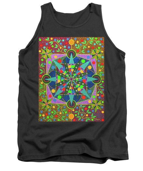 Vision - The Dna Of Plants Tank Top