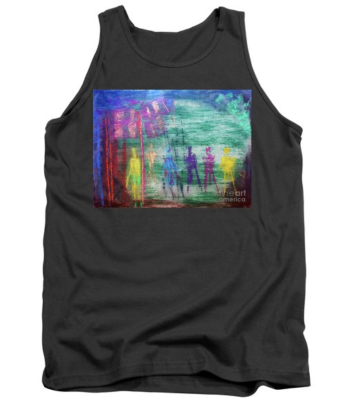 Visions Of Future Beings Tank Top